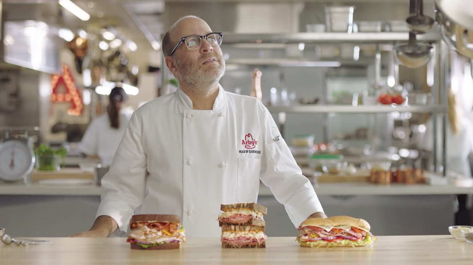 Arby's: Head Of Sandwiches