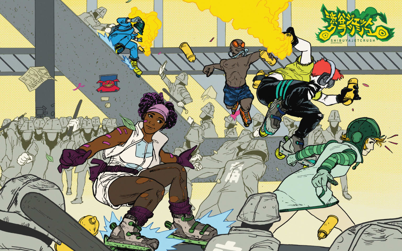 Shibuya Jet Crush: a Jet Set Radio Zine