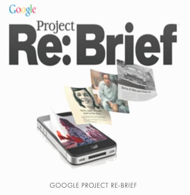 Google Project Re-Brief