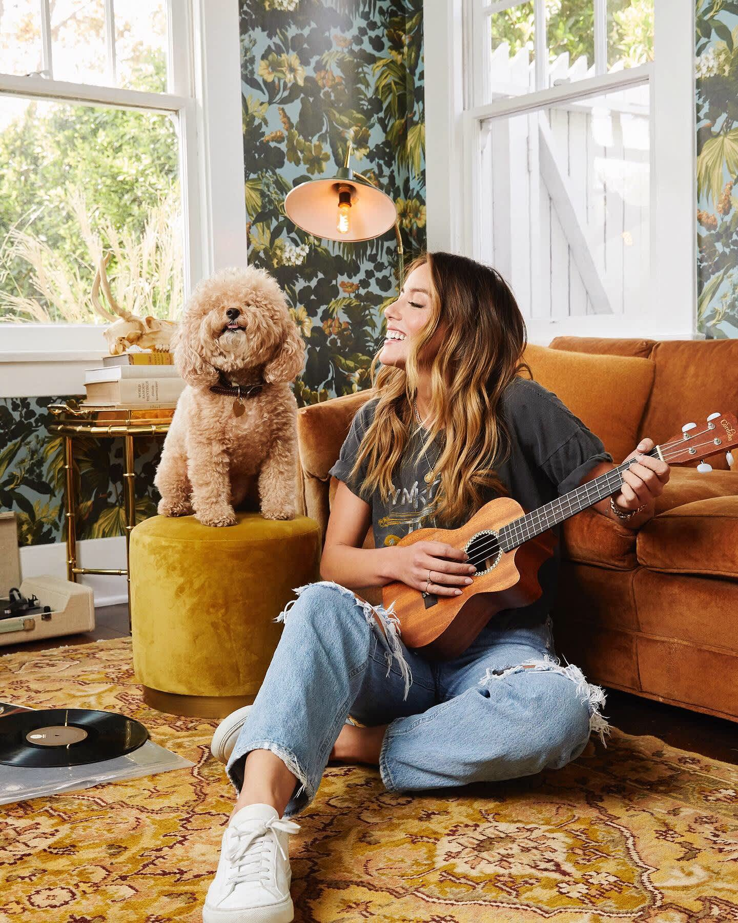 HOLLYWOOD AT HOME - Portraits of Chloe Bennet for People Magazine