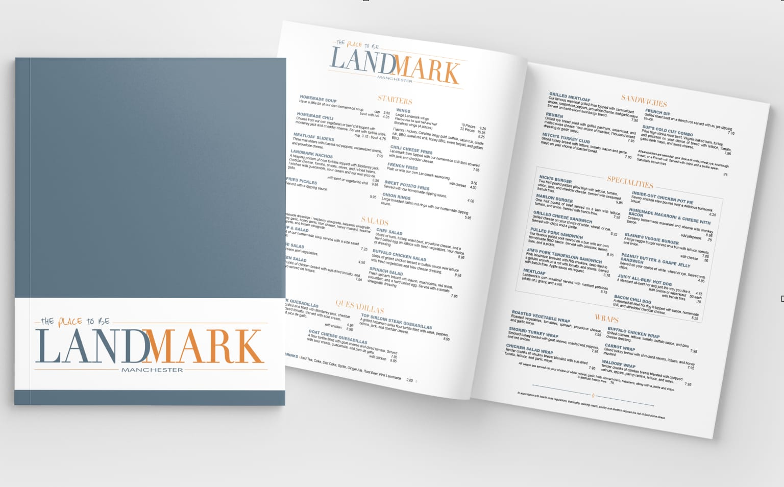 Restaurant Branding and Menus