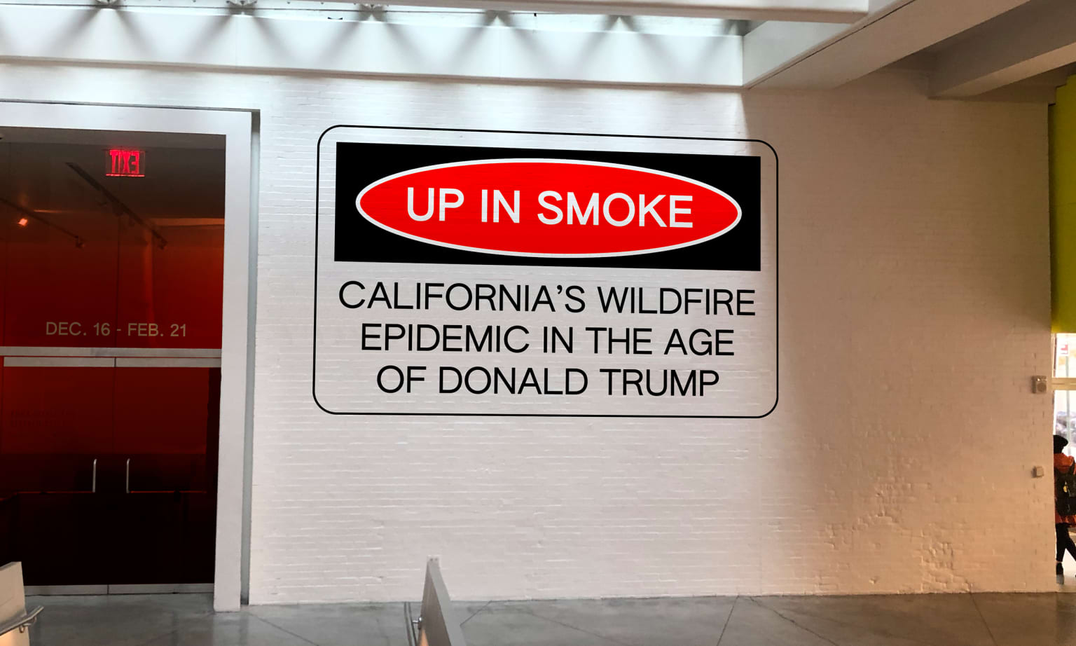 Up In Smoke — Exhibition Design