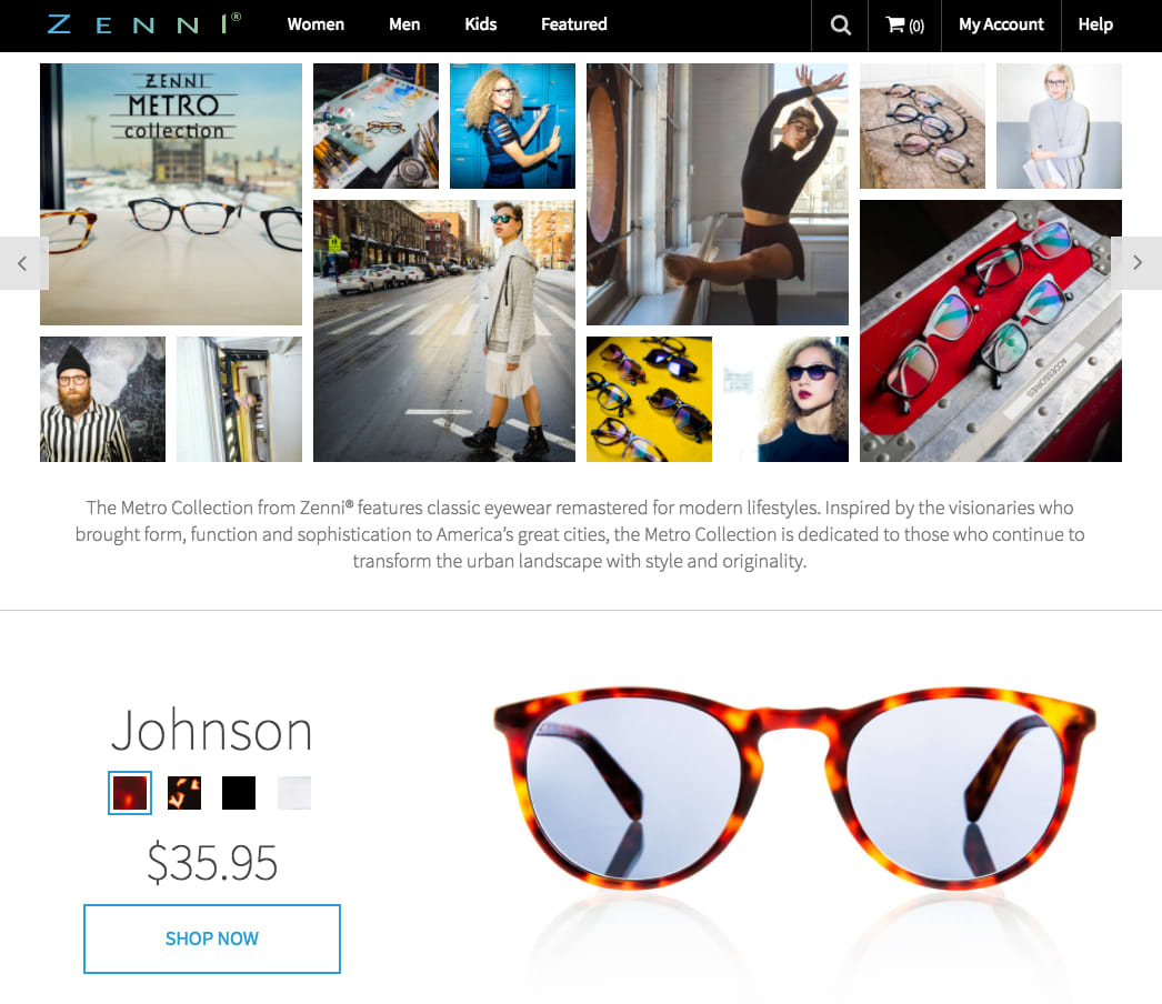 Zenni Optical Collections