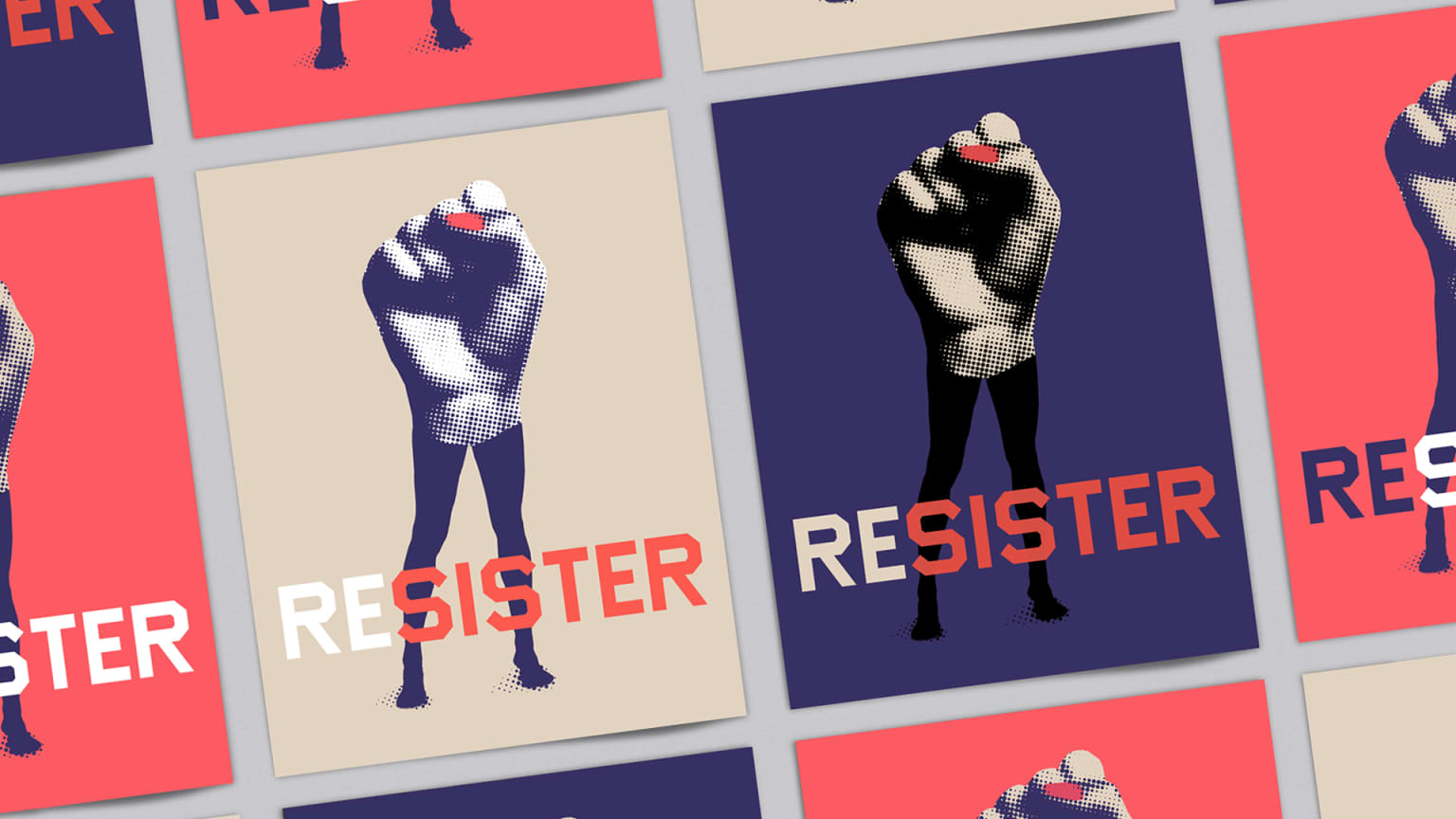 Resister Poster for the 2017 Women's March