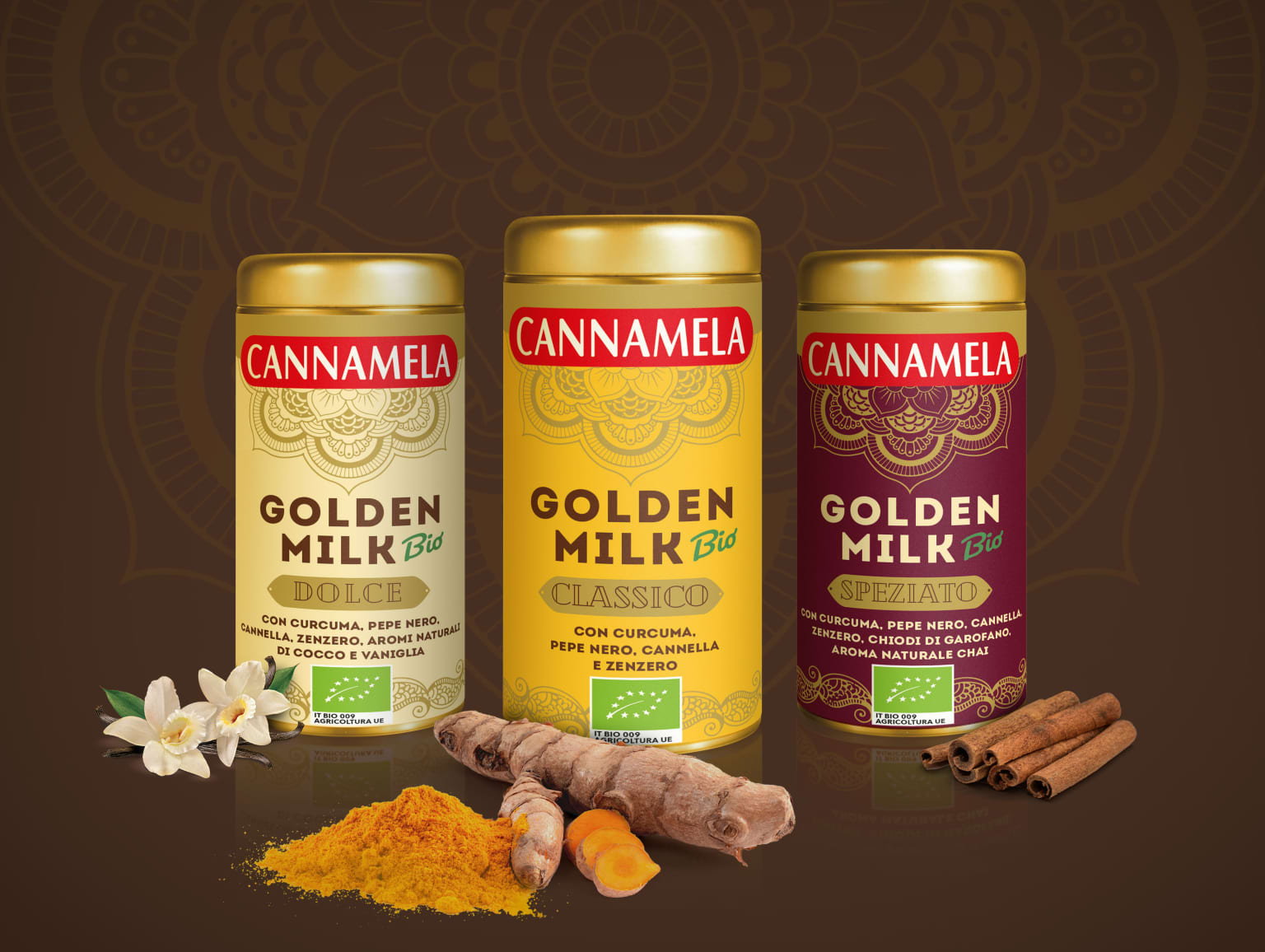 Cannamela Golden Milk - New Product Packaging
