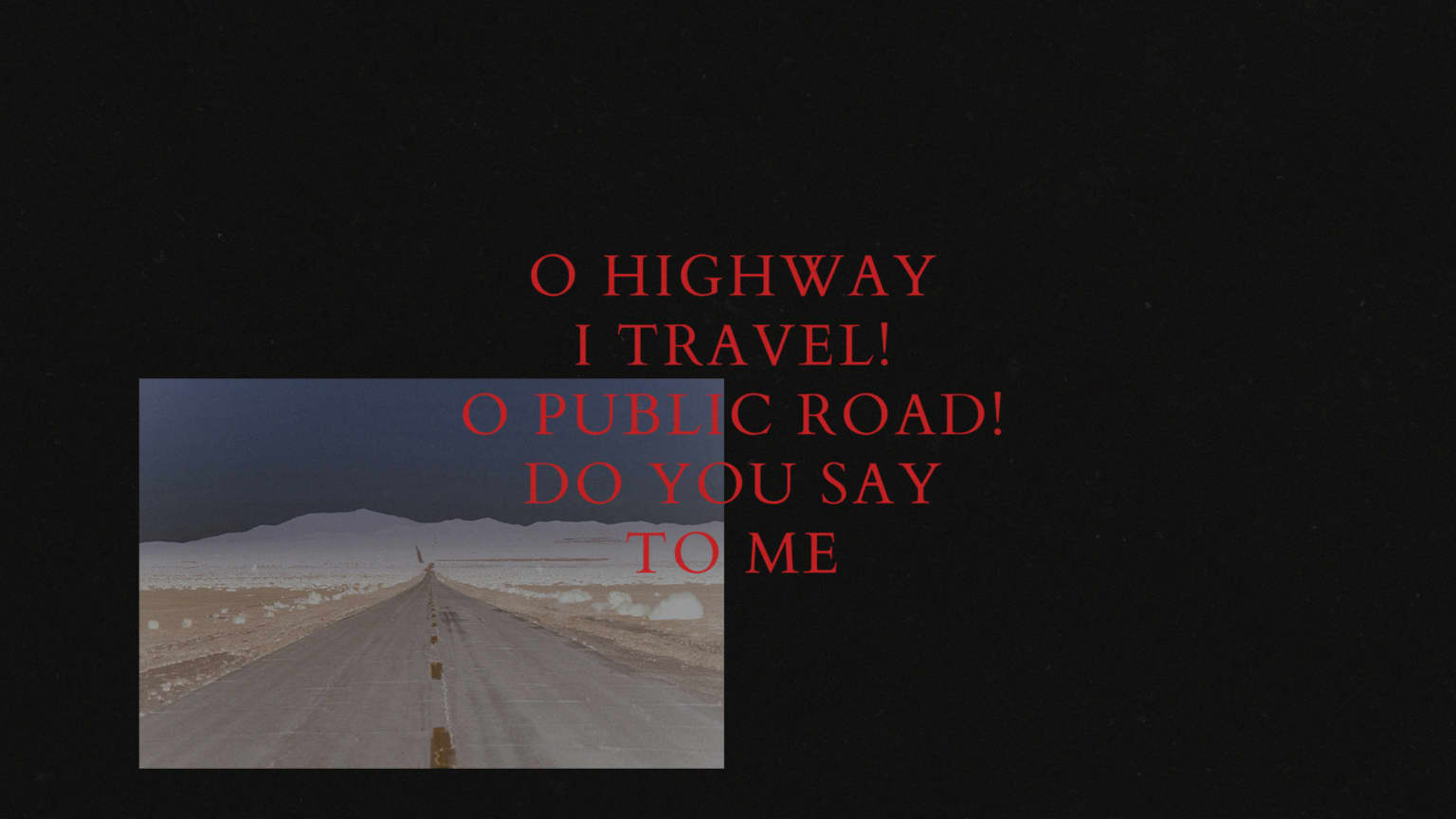 Volvo Song of the Open Road
