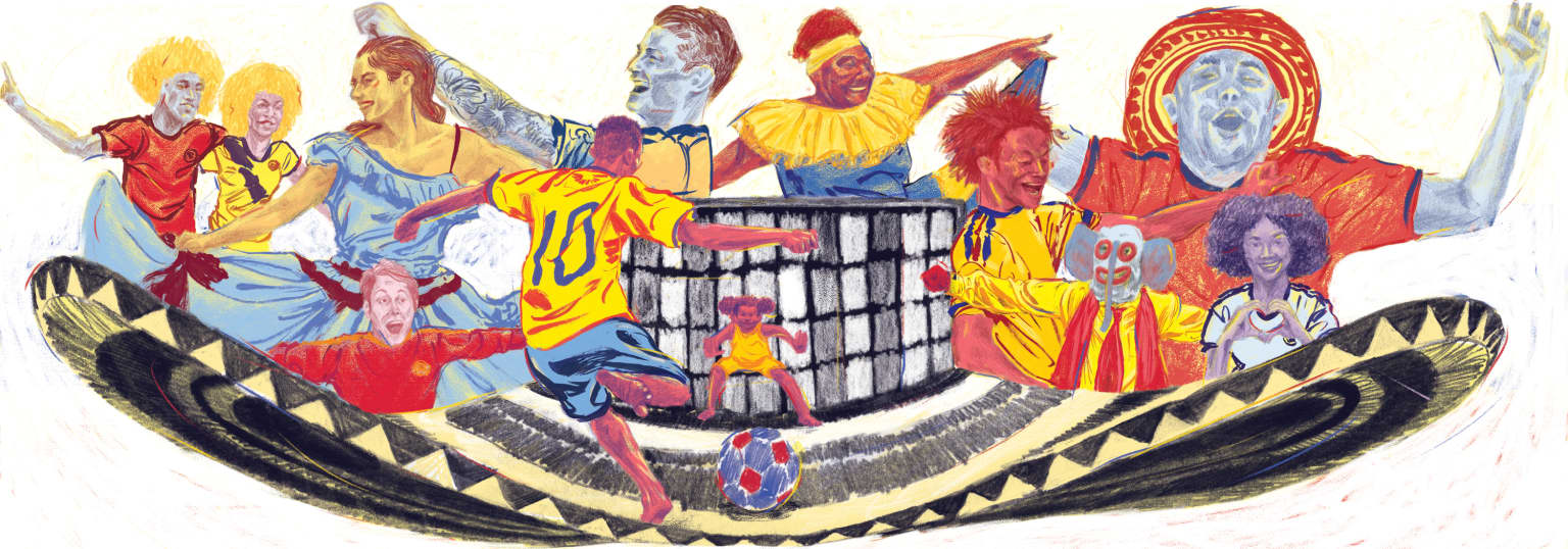 Google Doodle for 2018 FIFA World Cup