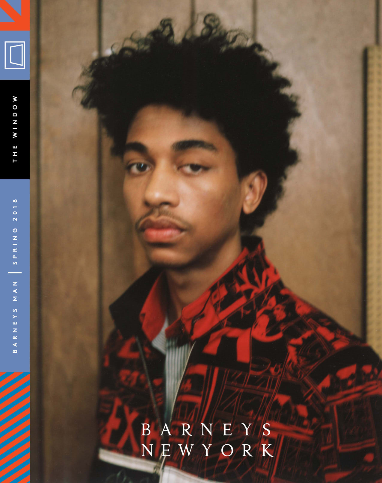 """Barneys New York """"The Window"""" Magazine Men's and Women's Spring and Fall 2018.""""The Window"""" in print which was created as an extension of Barneys New York """"The Window"""" online and to create a 360 degree approach to the Barneys New York brand. It combines lu"""