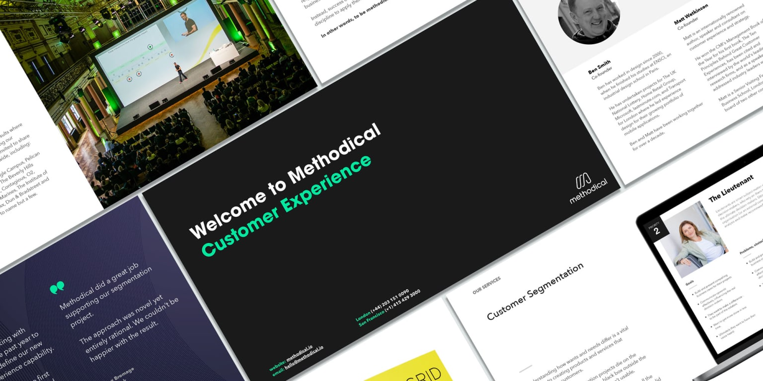 METHODICAL — Strategic Brand Assets and Presentations for Business Intelligence Agency
