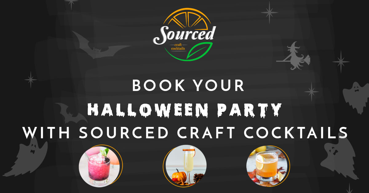 Sourced Halloween Social Advertisement