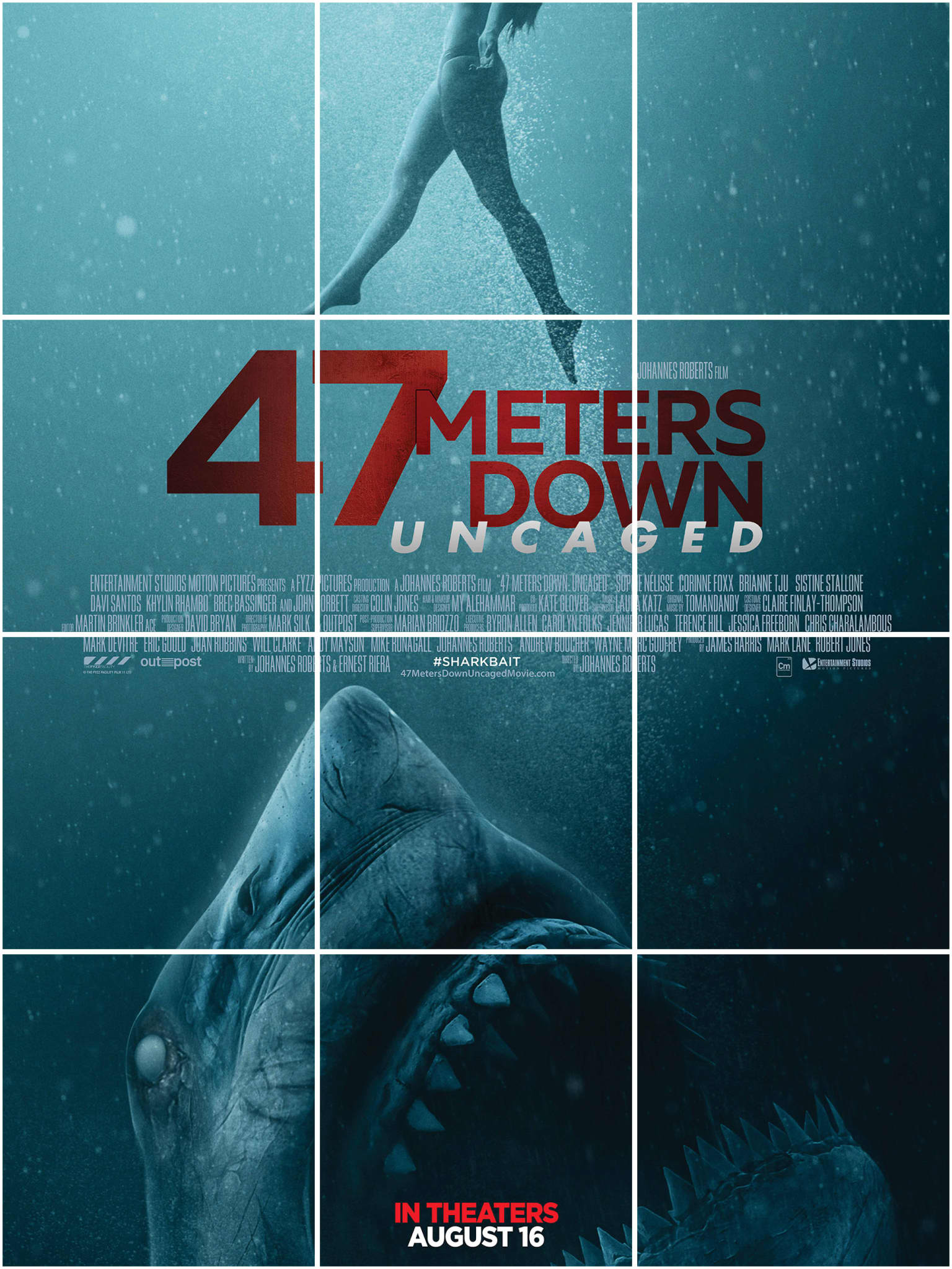47 Meters Down: Uncaged - Social Media Campaign