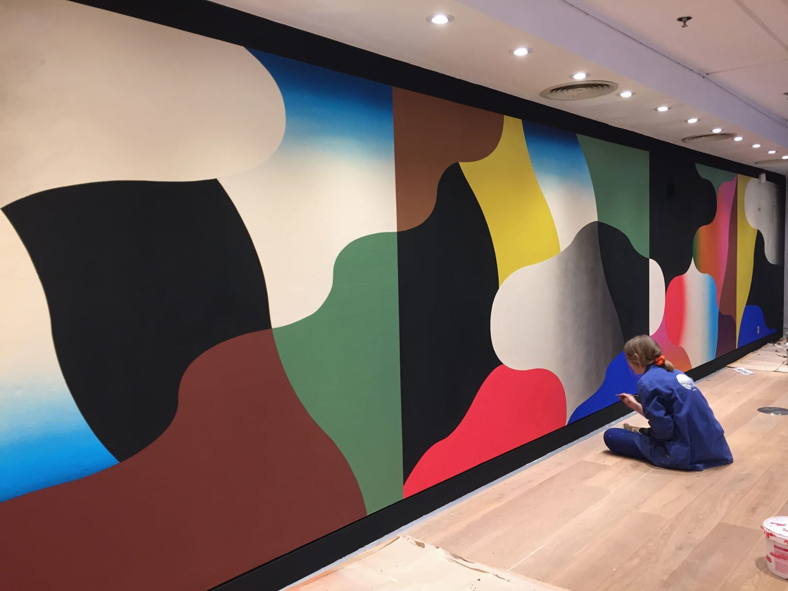 Mural - The Conran Shop, Marylebone
