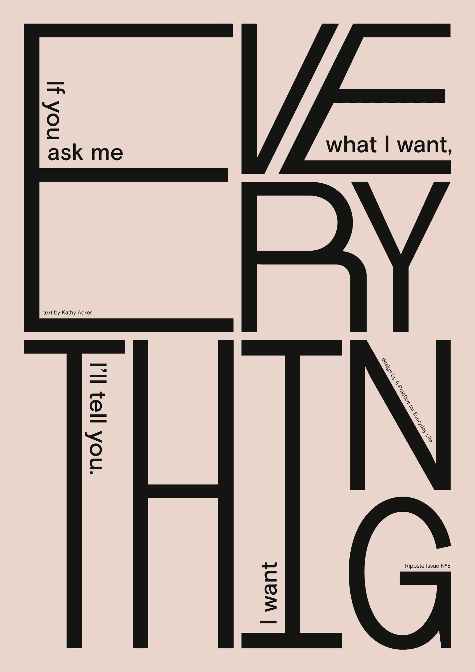 Everything poster