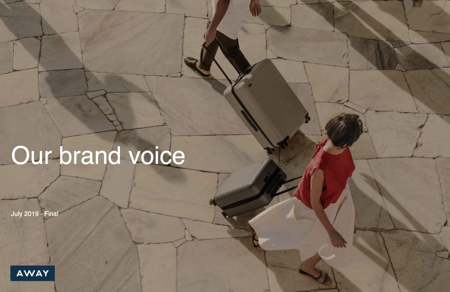 Away: Voice Guidelines