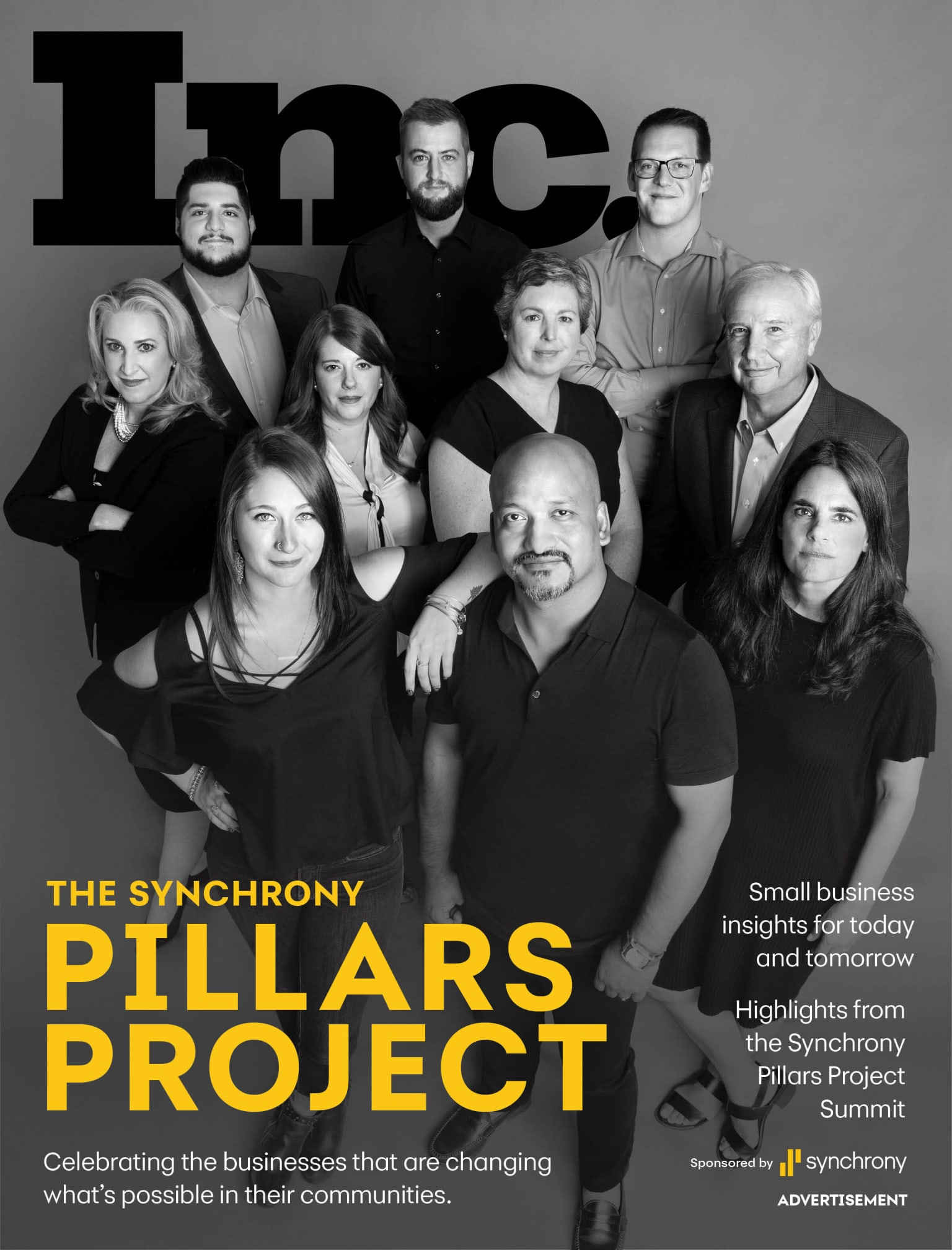 Magazine Takeover: The Pillars Project