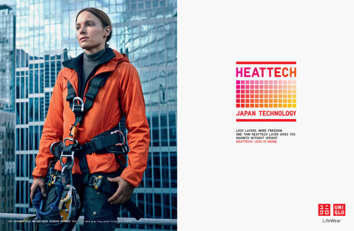 Uniqlo HEATTECH: Less is Warm