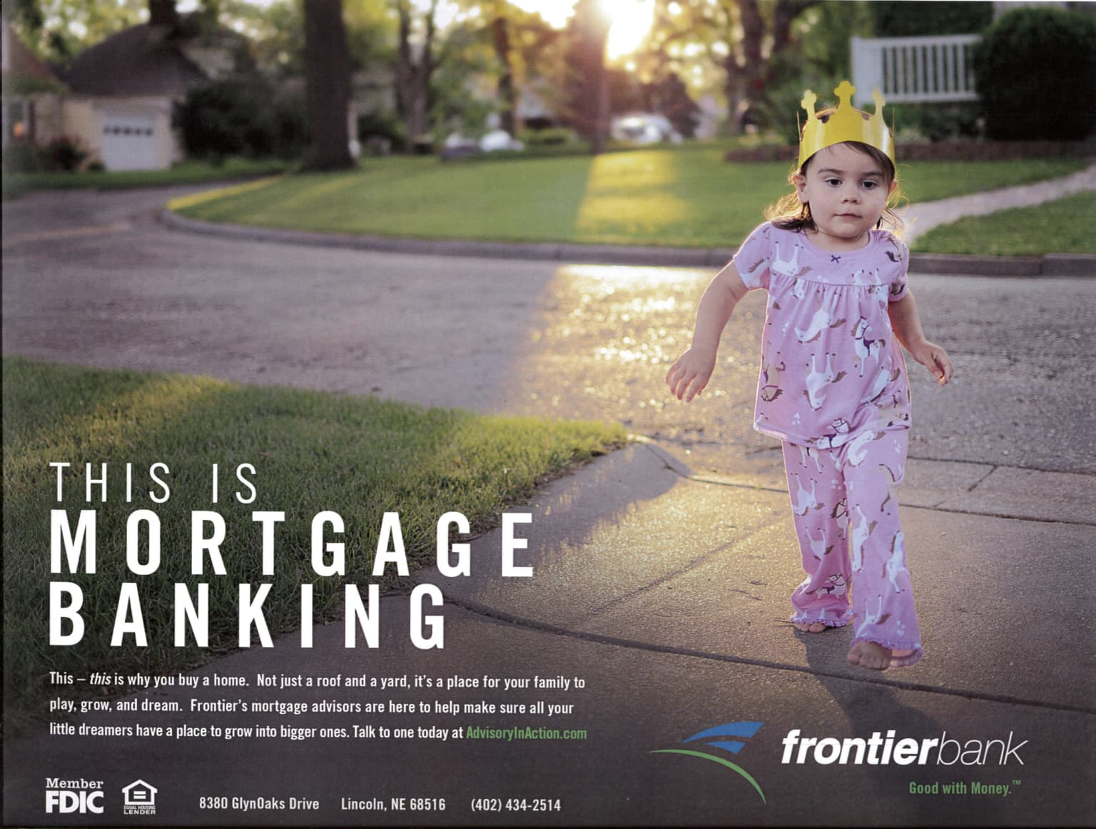 Frontier Bank. Small bank with big dreams.