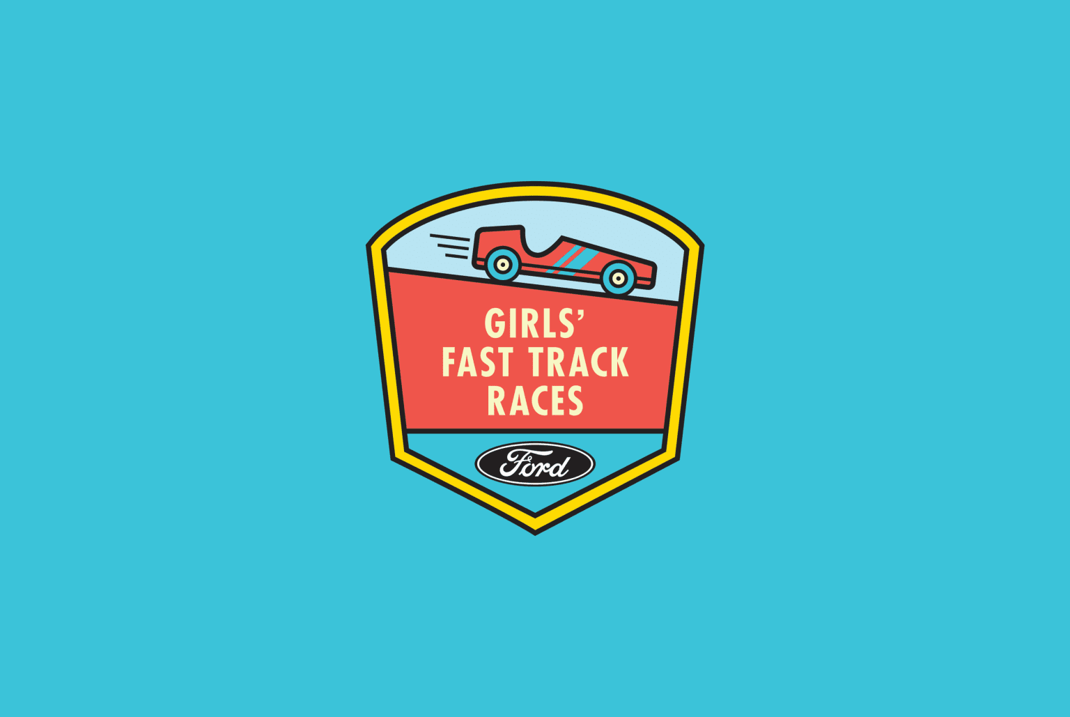 Girls' Fast Track Races
