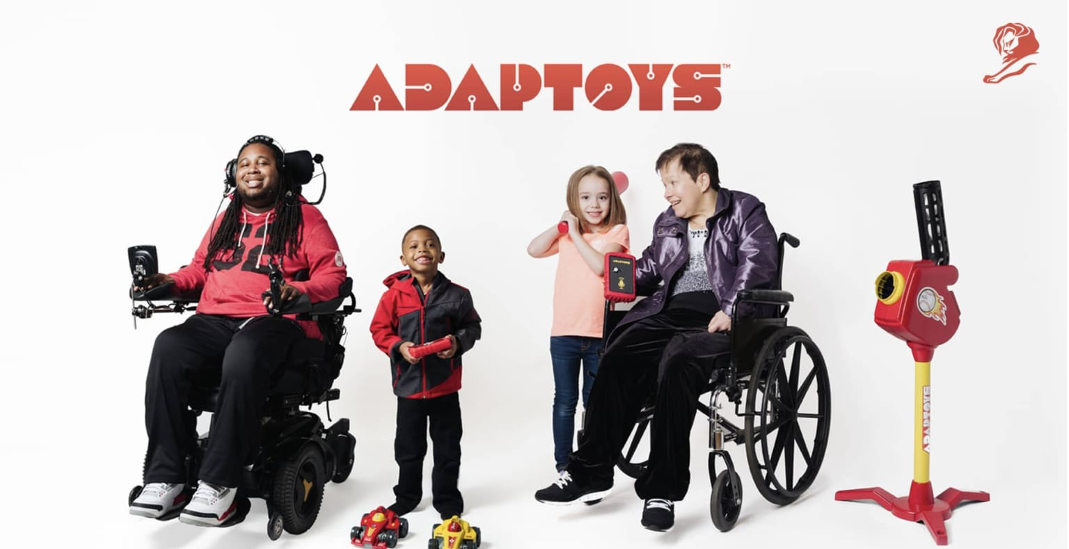 Christopher Reeve Foundation - Adaptoys