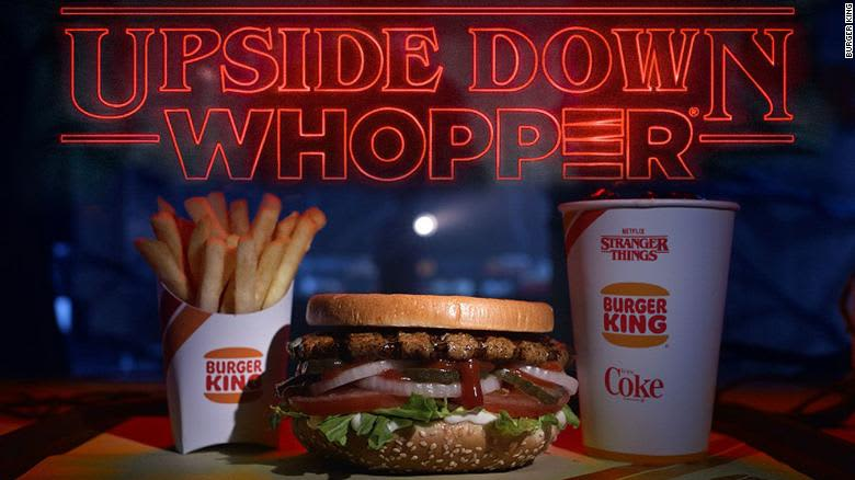 The Upside Down Whopper