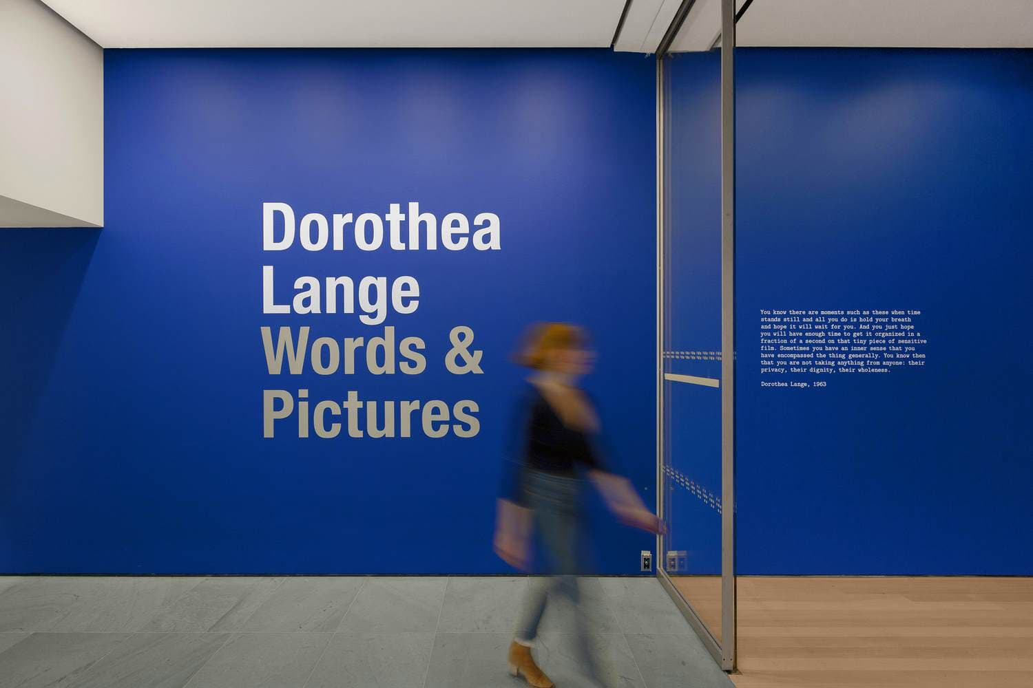 MoMA: Dorothea Lange: Words & Pictures