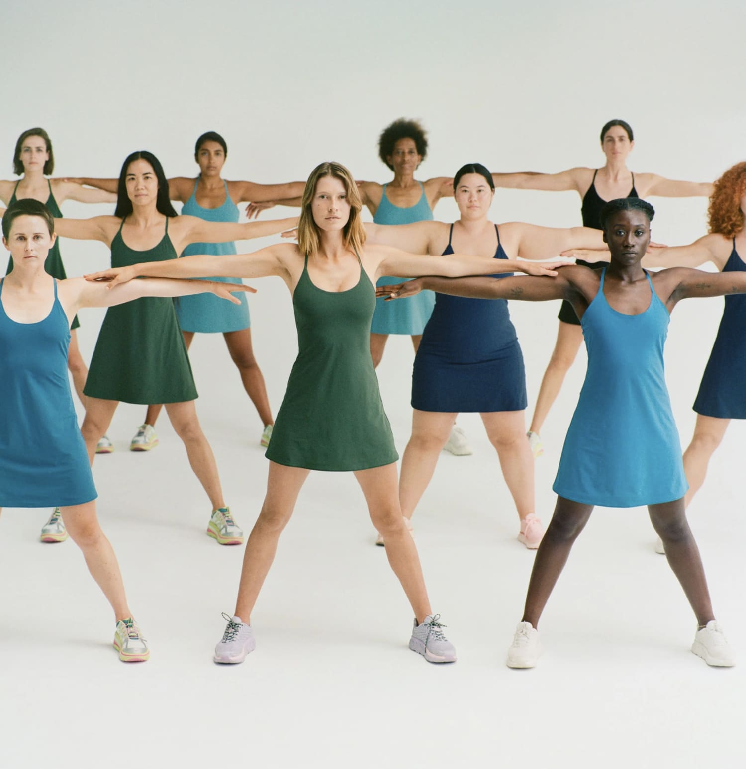 The Exercise Dress Campaign
