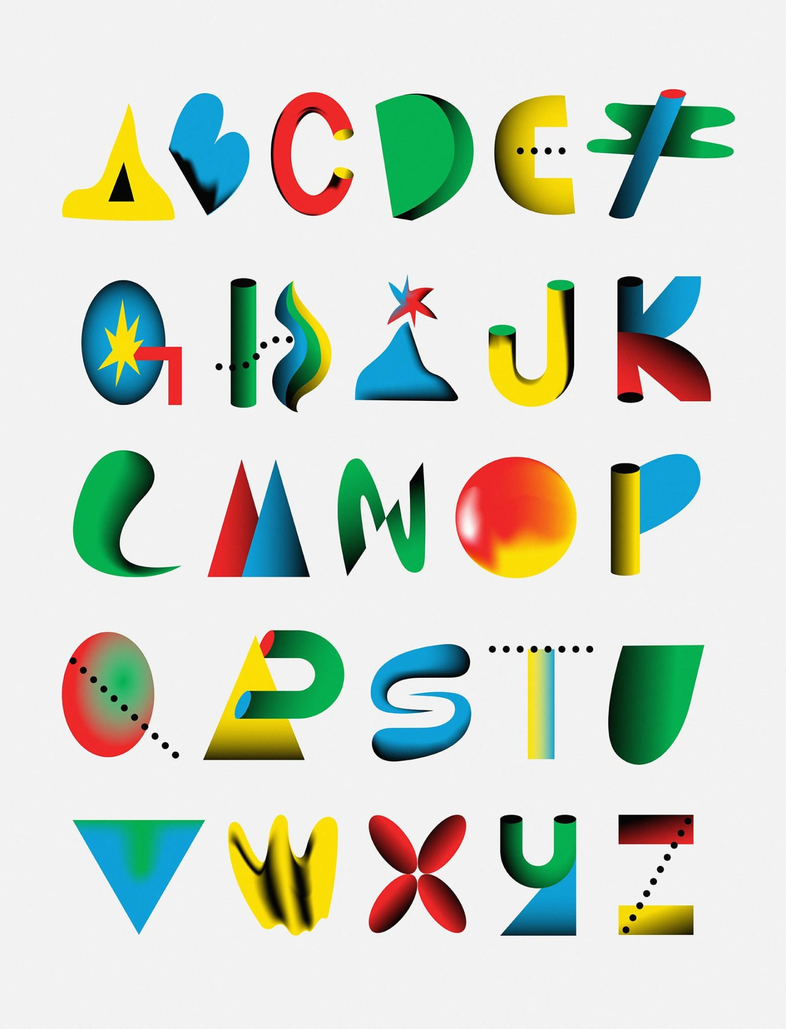 New Life Forms Typeface