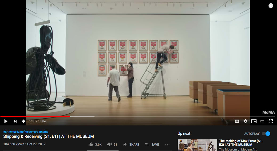 AT THE MUSEUM video series