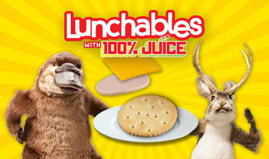 "Lunchables ""Mixed Up Fun"" Augmented Reality Games"