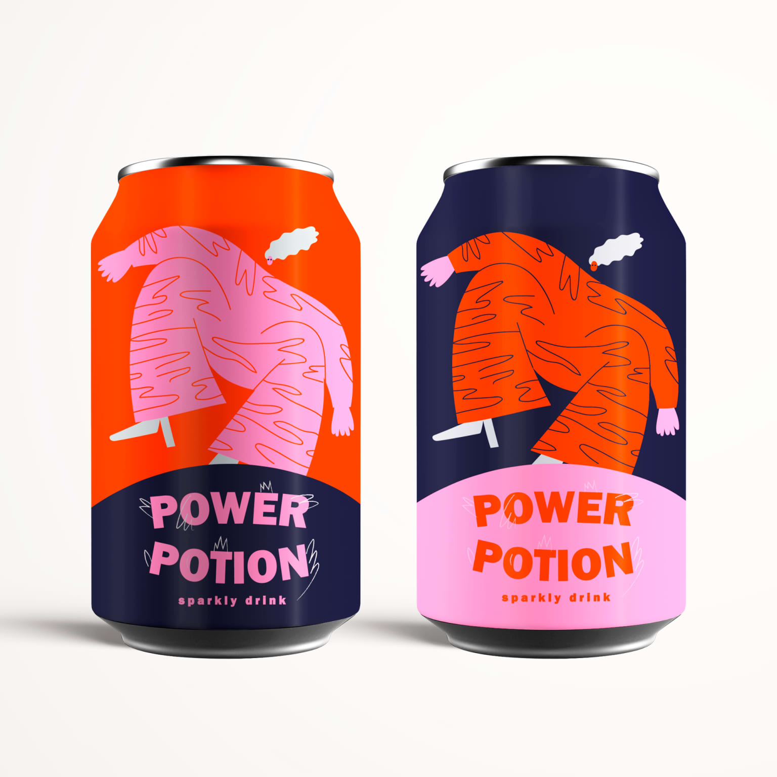 Power Girls Cans