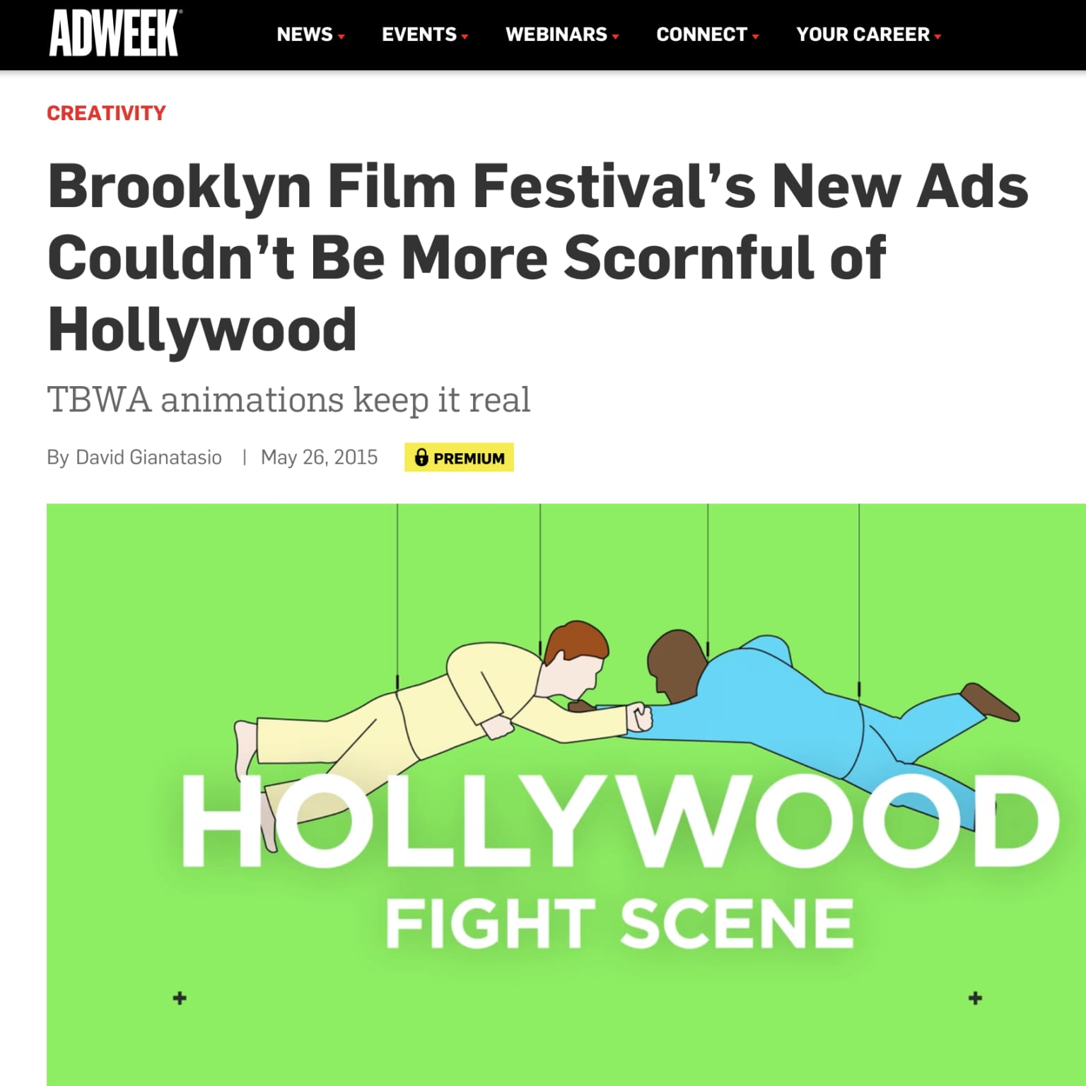 "Films: Brooklyn Film Festival ""3000 miles from Hollywood"""