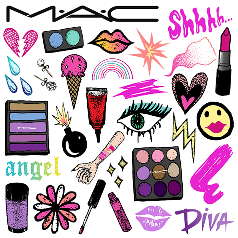 MAC COSMETICS EMOJIS