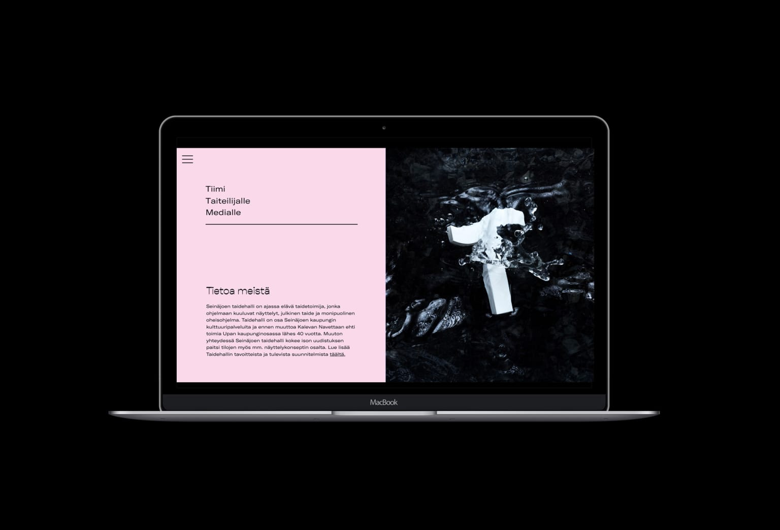 Visual Identity and Web Design for Kunsthalle Seinäjoki