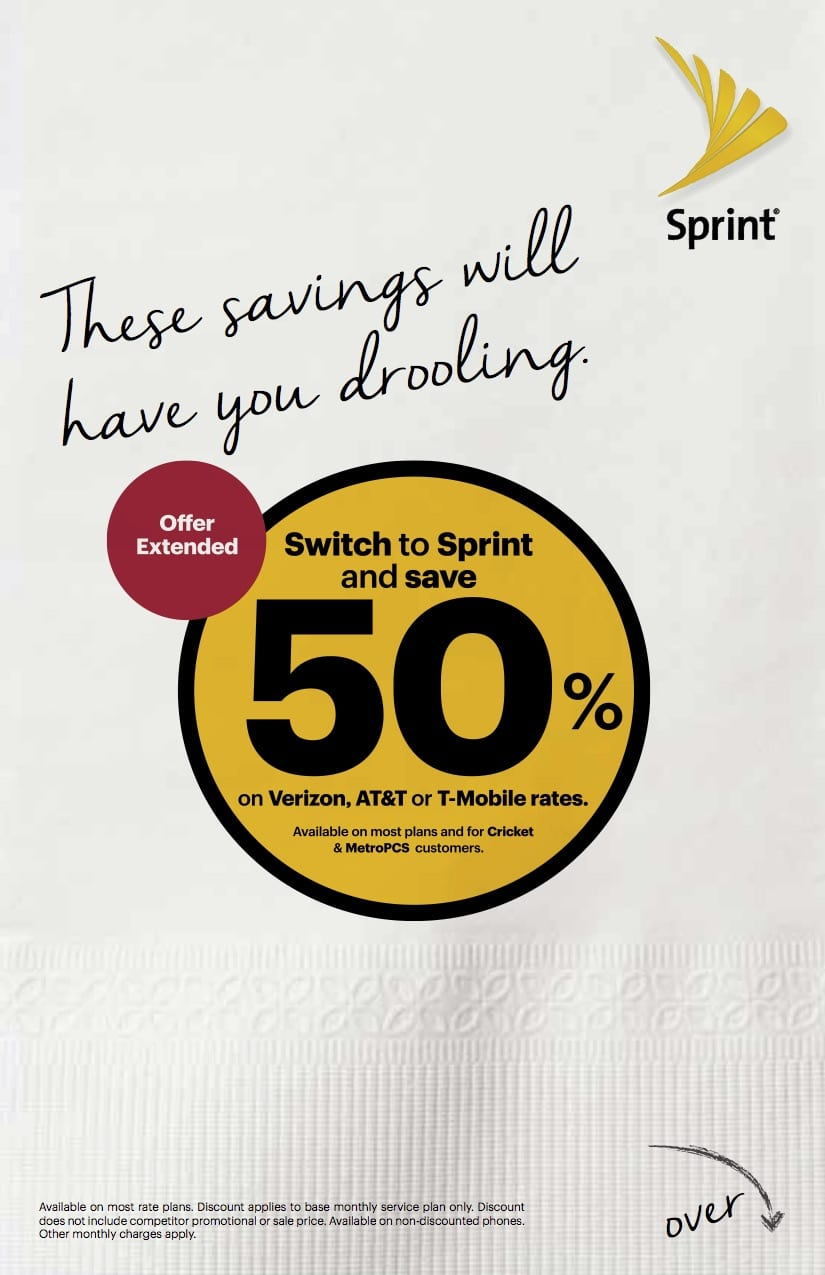 Sprint Carryout Coupon