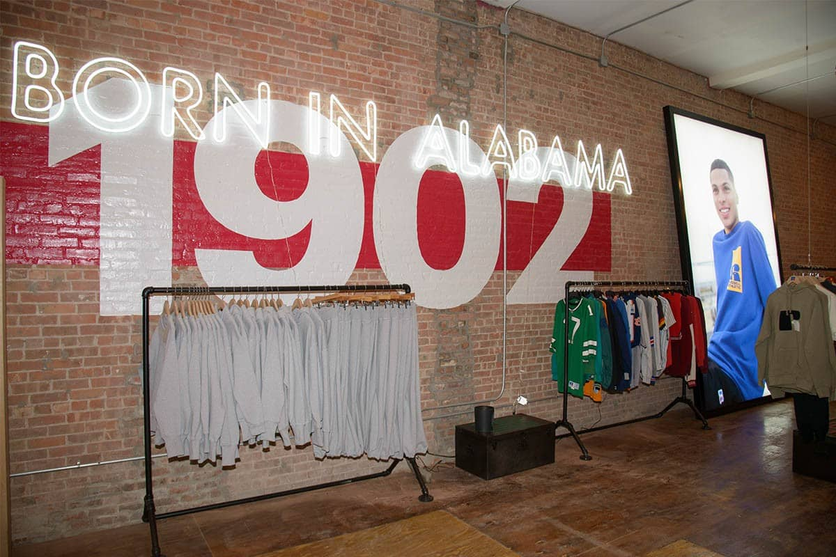 Russell Athletic NYC Pop-Up