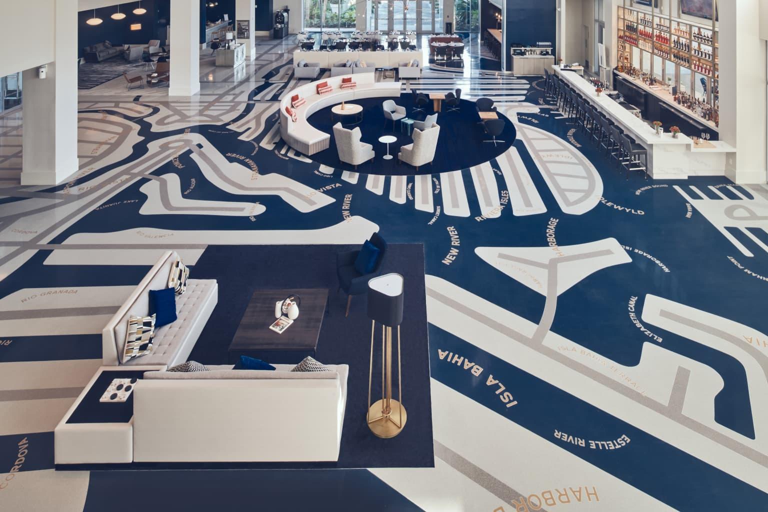 Le Méridien Dania Beach hotel: environmental design / EGD