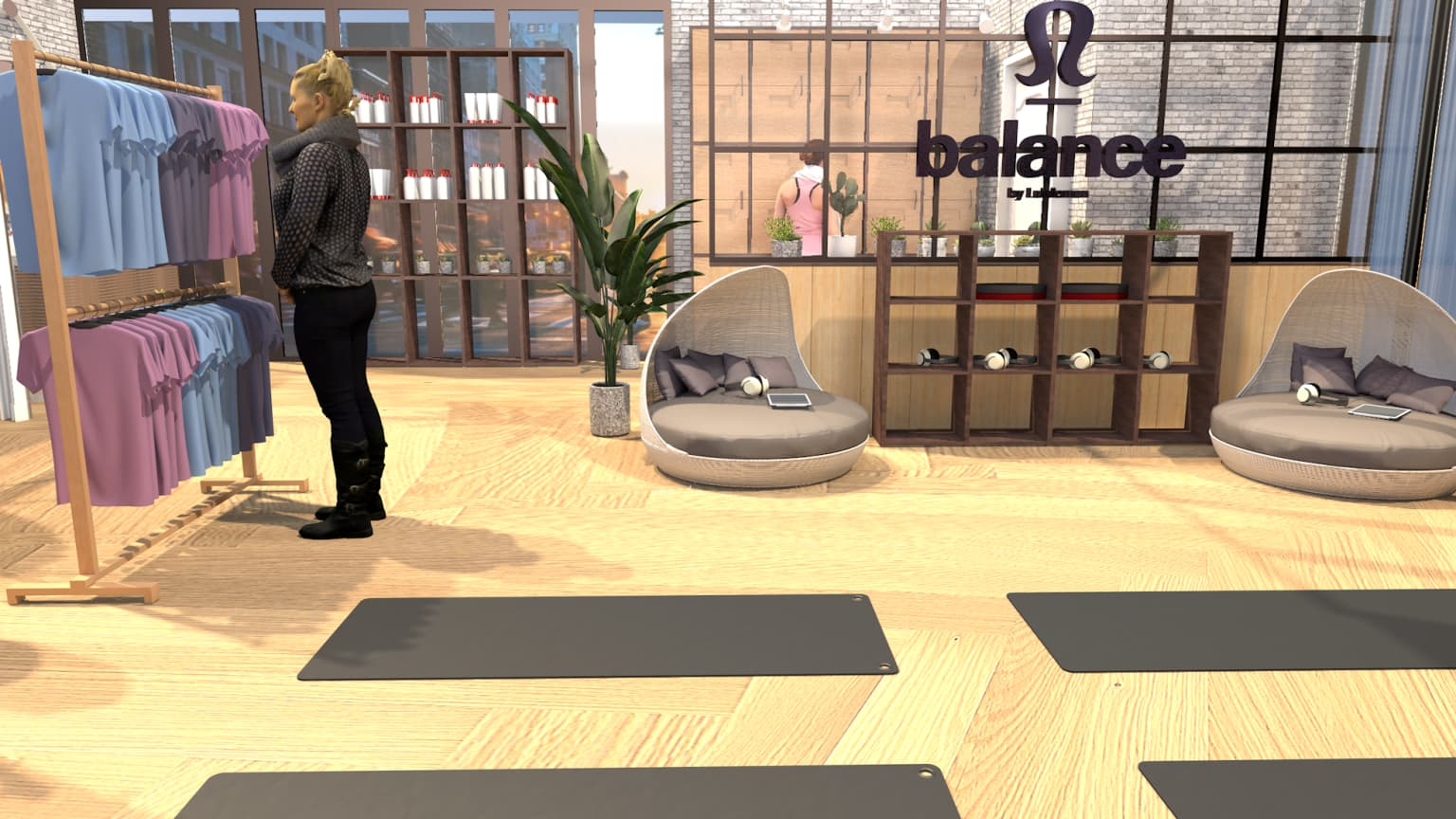 balance by lululemon - Store Concept