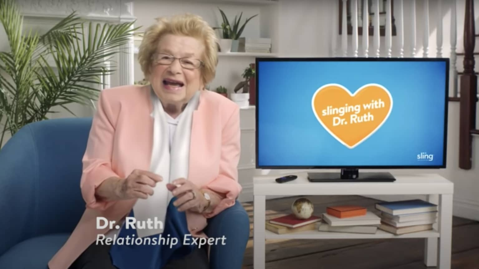 Slinging with Dr. Ruth