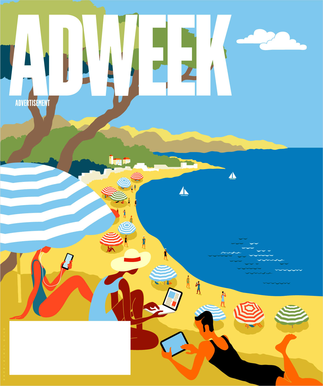 The Trade Desk ADWEEK cover wrap Cannes Edition