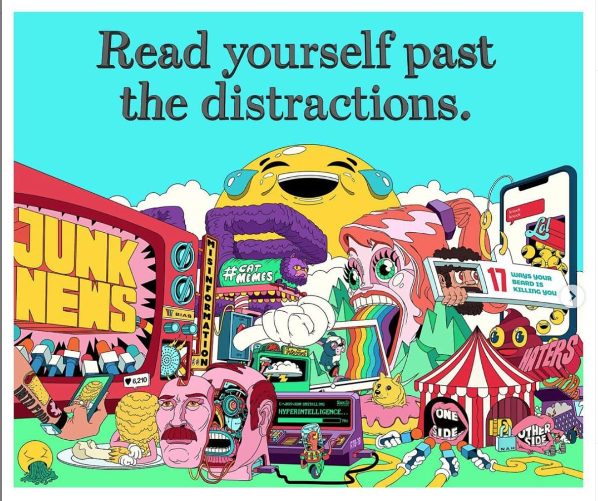 Wall Street Journal - Read Yourself Past The Distractions