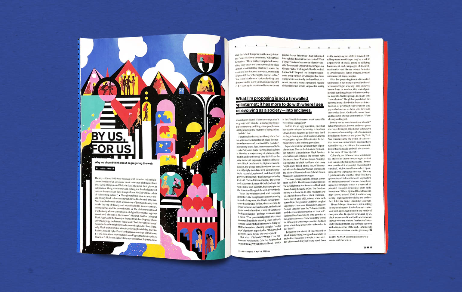 WIRED US — By us, for us