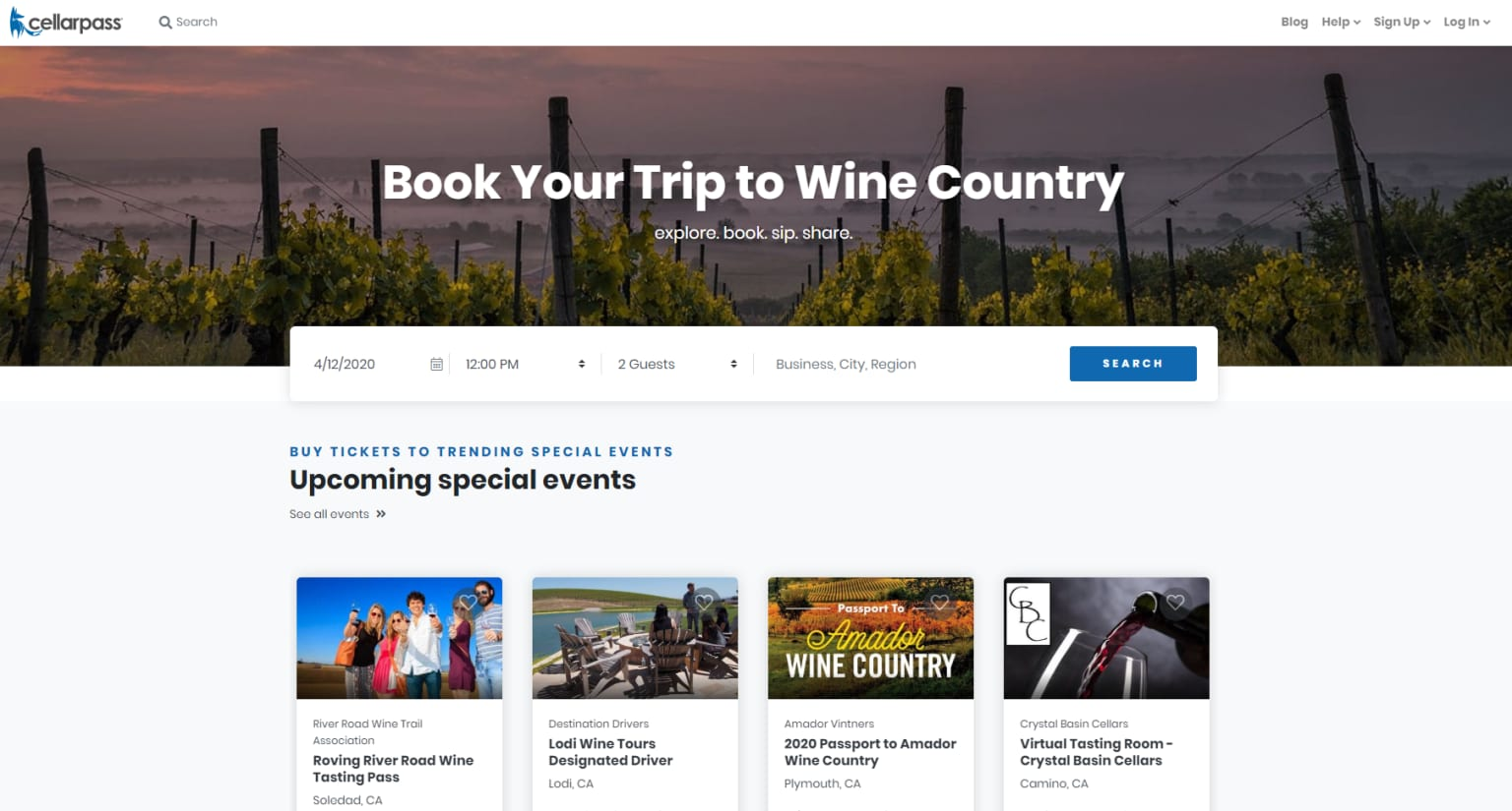 Wine Country Tourism