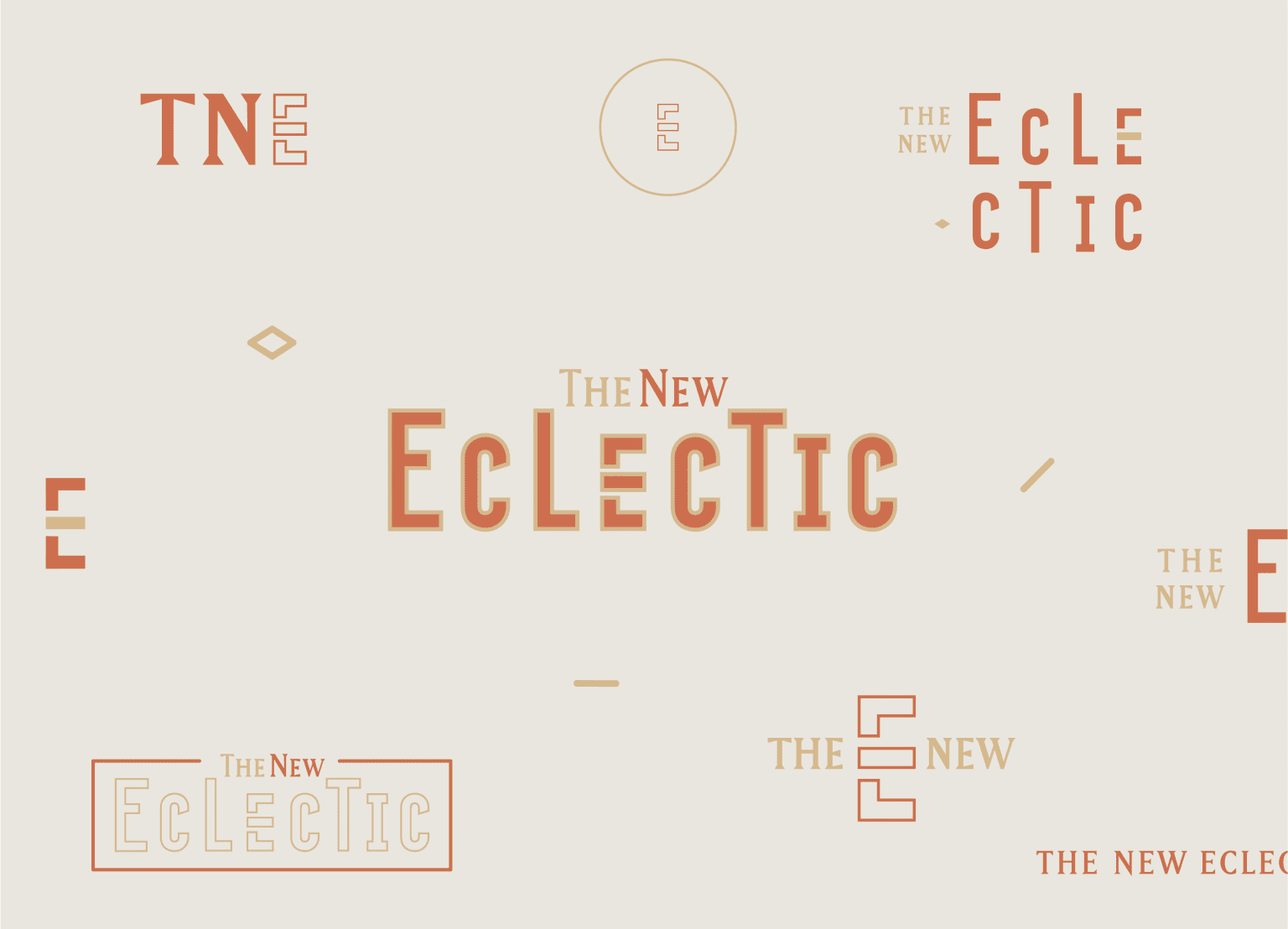 The New Eclectic Brand Identity