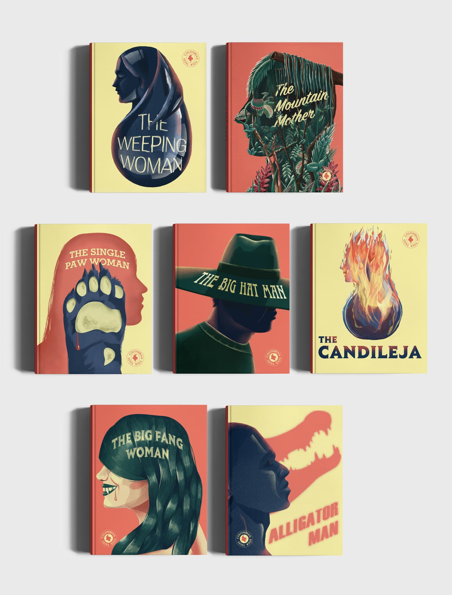 Colombian Folk Tales · Book Cover Design