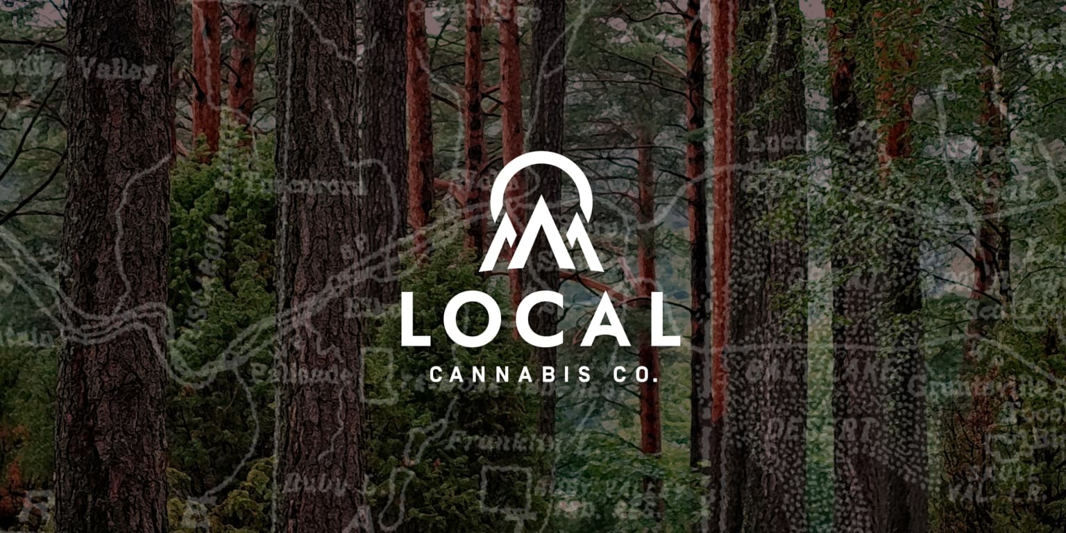 Local Cannabis Co. Brand Identity + Packaging