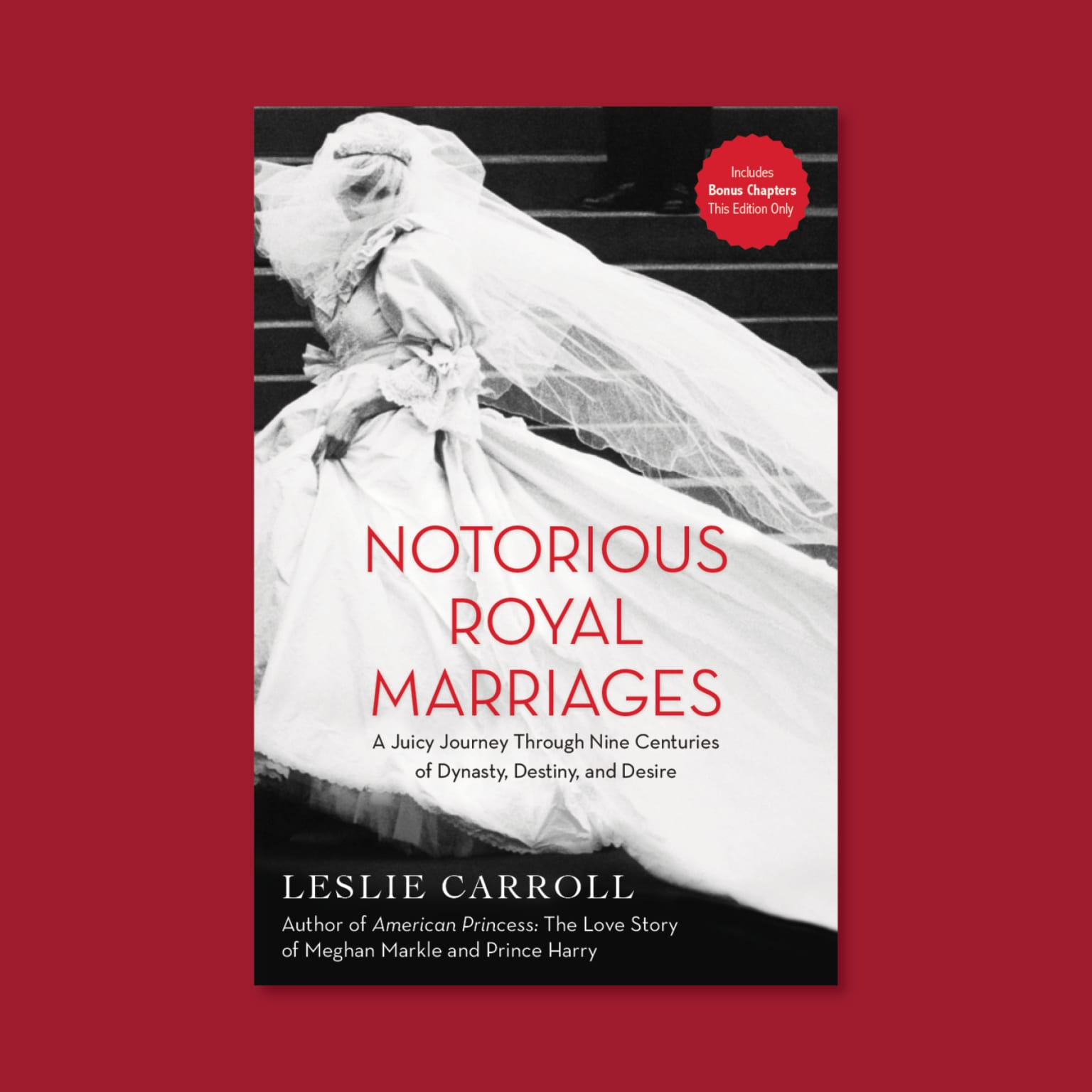 Notorious Royal Marriages Book Cover Design
