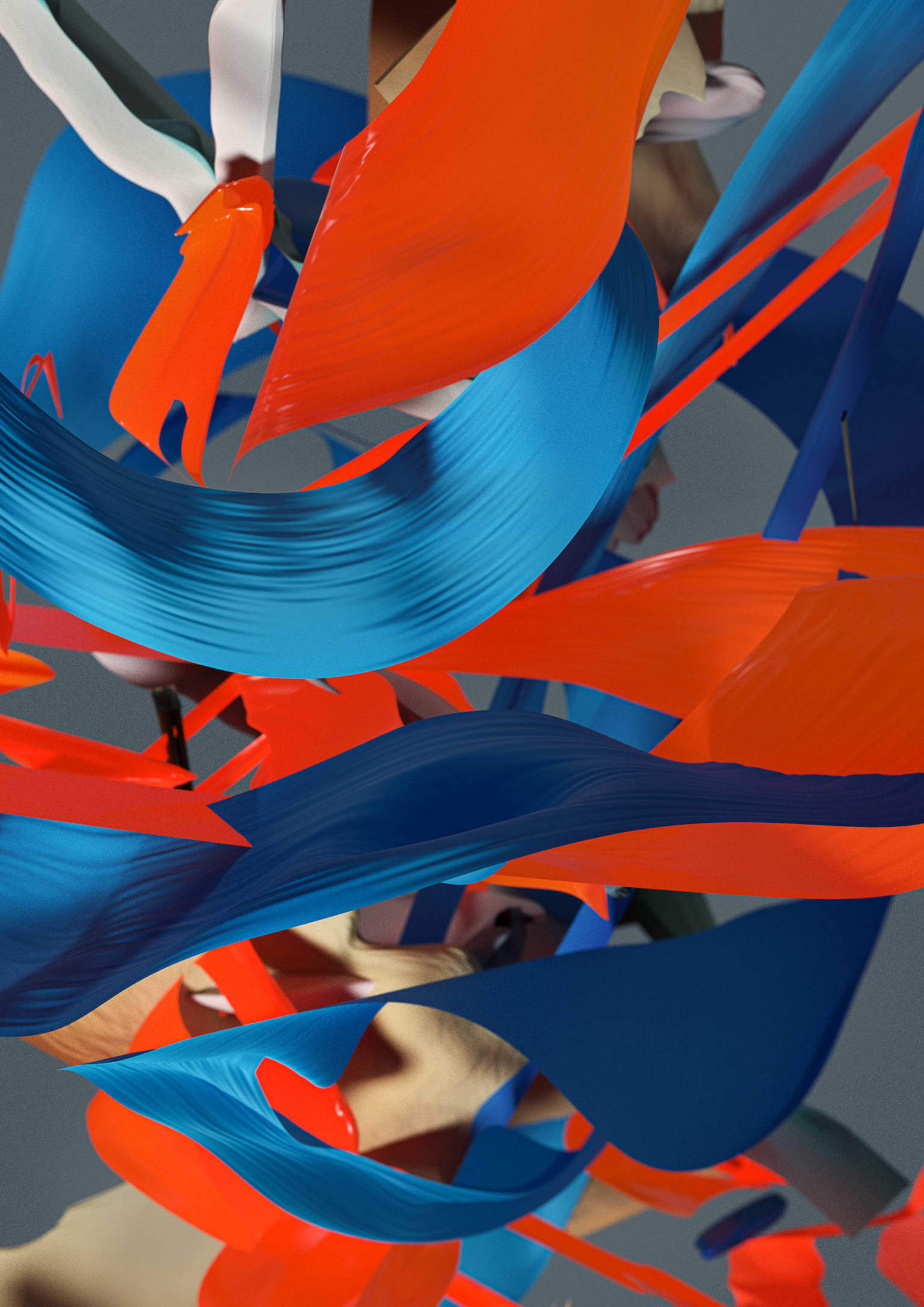 Abstract and Generative Digital Paintings