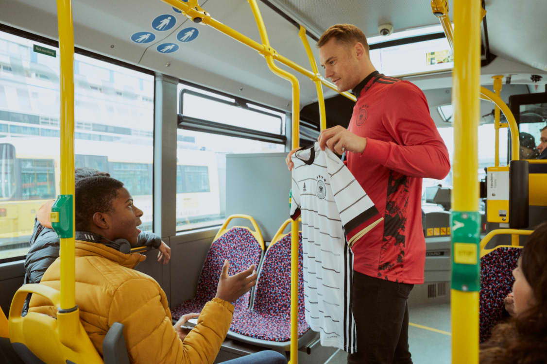 adidas Football DFB Euro 2020 Jersey Launch Activation