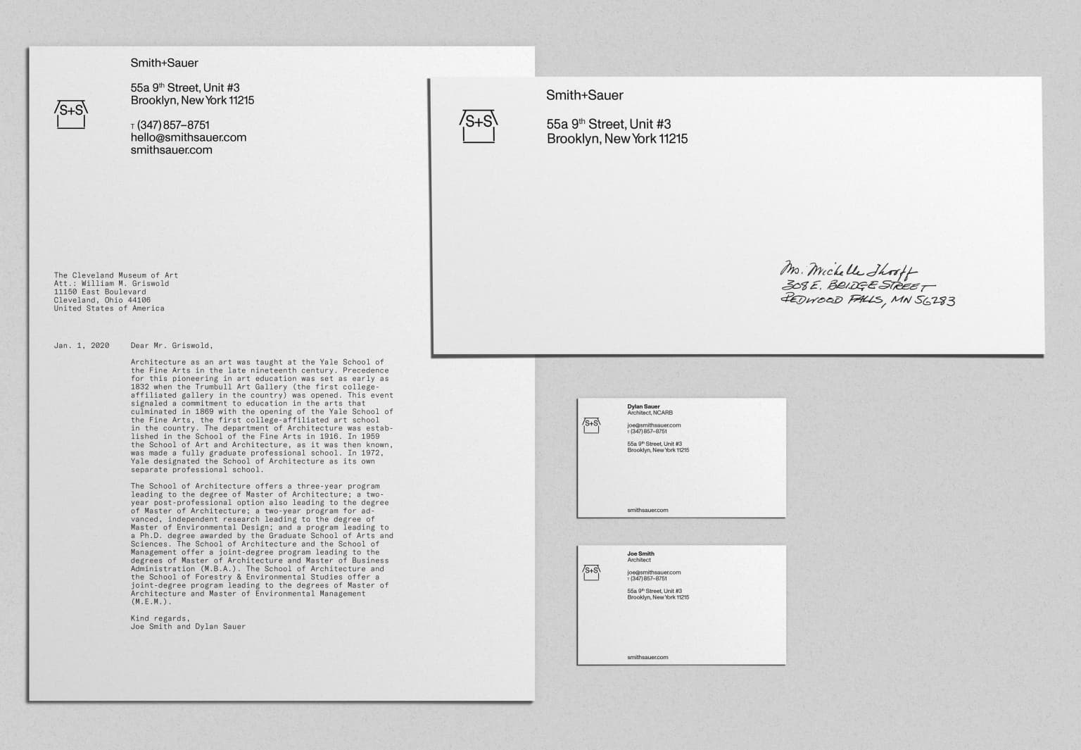Identity for Smith+Sauer