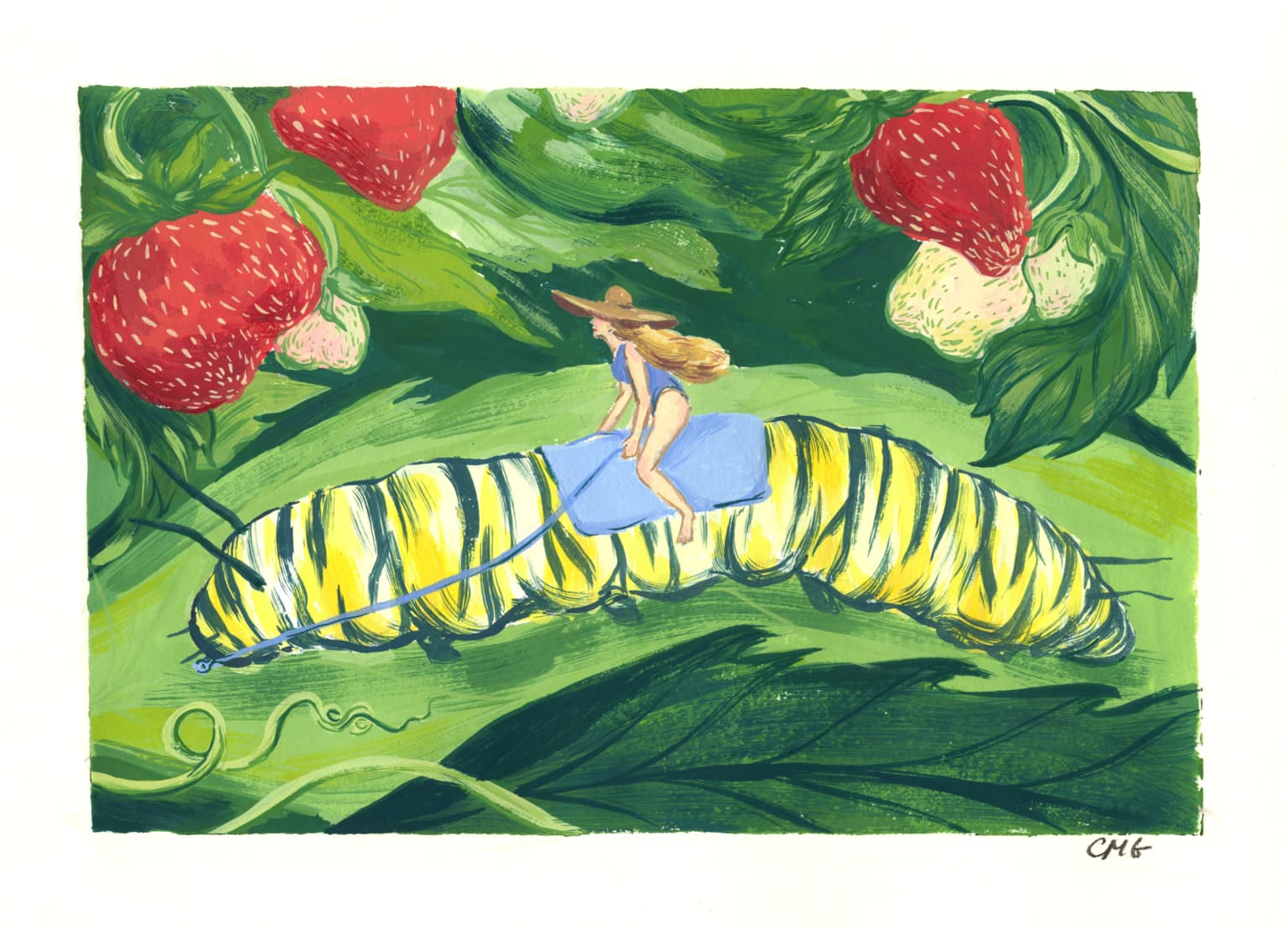 """The Great Caterpillar Rider"""